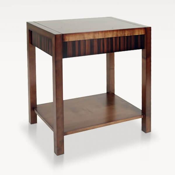 Descuento mesa de luz en madera