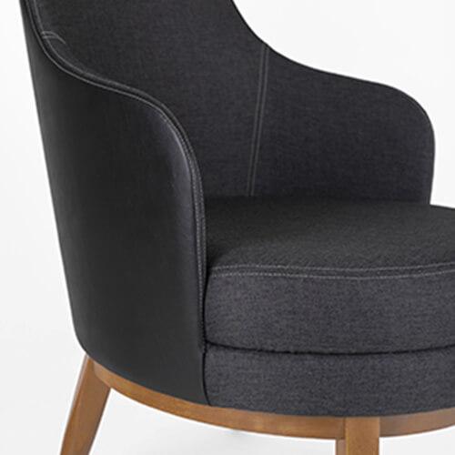Comprar sillon tapizado de diseño