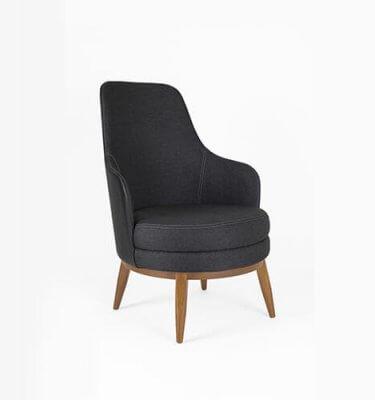Comprar sillon de diseño tapizado