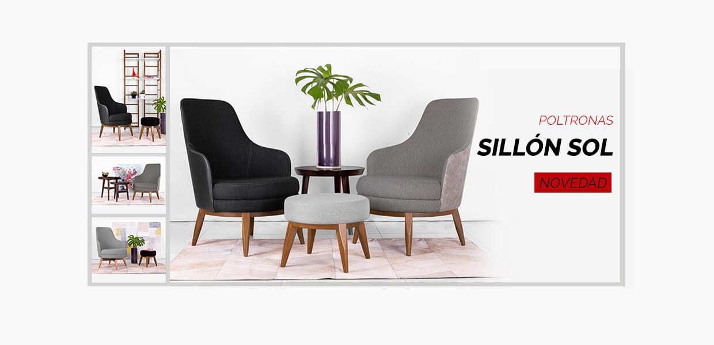 sillones de diseño tipo poltrona