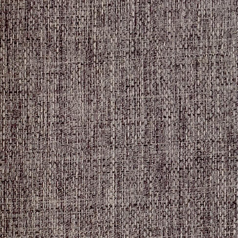 Detalle tela en Lino color marrón