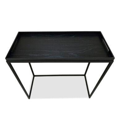 Mesa de arrime tipo bandeja Black
